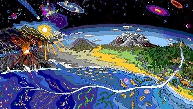 Afbeeldingsresultaat voor het ontstaan van de aarde